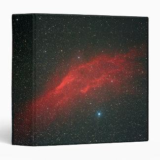 "Nebulosa de California Carpeta 1 1/2"""