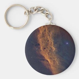 Nebulosa de California Llavero Redondo Tipo Pin