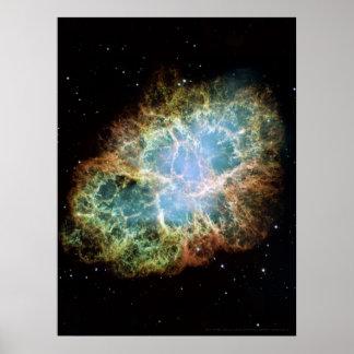 Nebulosa de cangrejo 18x24 (12x18) poster