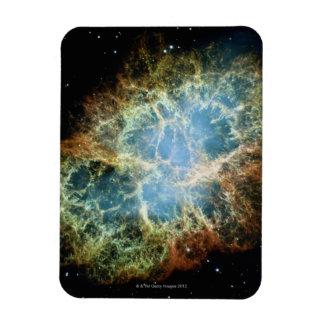 Nebulosa de cangrejo 4 imán rectangular
