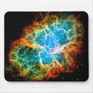 Nebulosa de cangrejo alfombrillas de ratón