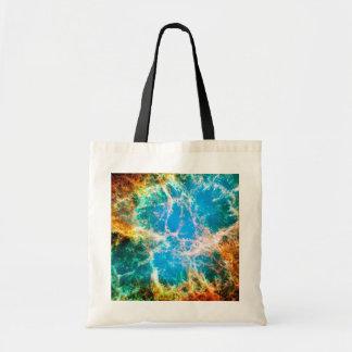 Nebulosa de cangrejo bolsas lienzo
