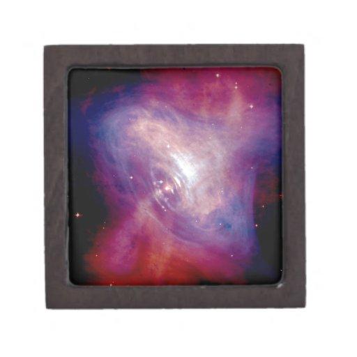 Nebulosa de cangrejo de Chandra Cajas De Regalo De Calidad