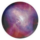 Nebulosa de cangrejo de Chandra Plato De Comida