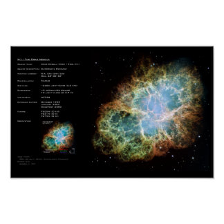 Nebulosa de cangrejo de M1-The Impresiones
