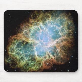 Nebulosa de cangrejo del trullo alfombrilla de raton