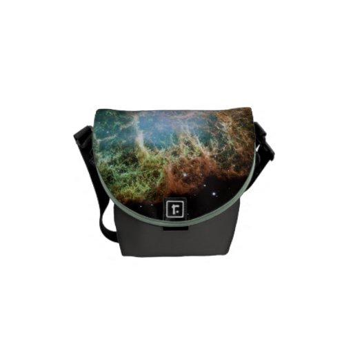 Nebulosa de cangrejo del trullo bolsas de mensajeria