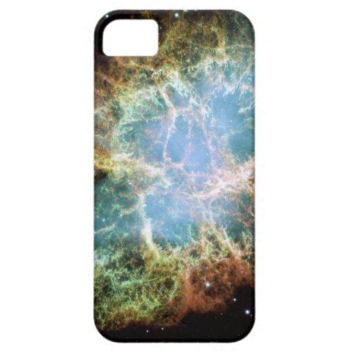 Nebulosa de cangrejo del trullo iPhone 5 cobertura