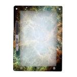Nebulosa de cangrejo del trullo pizarra blanca