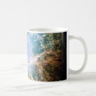 Nebulosa de cangrejo del trullo taza de café