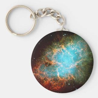 Nebulosa de cangrejo en el tauro - universo impres llaveros