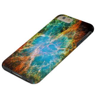 Nebulosa de cangrejo funda de iPhone 6 plus tough