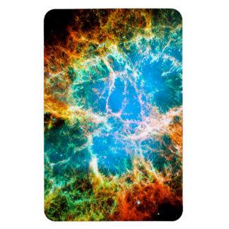 Nebulosa de cangrejo imán de vinilo