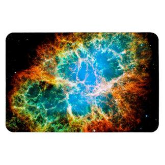 Nebulosa de cangrejo iman rectangular
