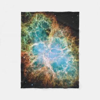 Nebulosa de cangrejo manta de forro polar