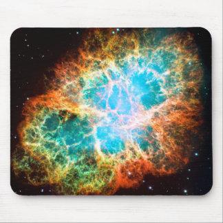 Nebulosa de cangrejo Mousepad Tapete De Ratón