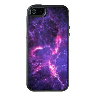 Nebulosa de cangrejo púrpura SpaceHD Funda Otterbox Para iPhone 5/5s/SE