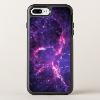 Nebulosa de cangrejo púrpura SpaceHD Funda OtterBox Symmetry Para iPhone 7 Plus