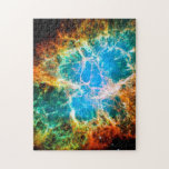 Nebulosa de cangrejo rompecabeza con fotos
