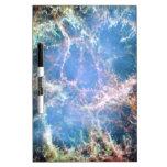Nebulosa de cangrejo tablero blanco