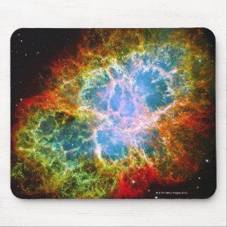 Nebulosa de cangrejo tapetes de raton