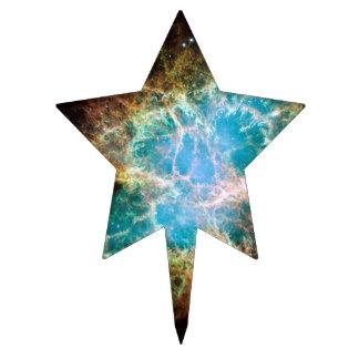 Nebulosa de cangrejo - telescopio de Hubble Decoración De Tarta