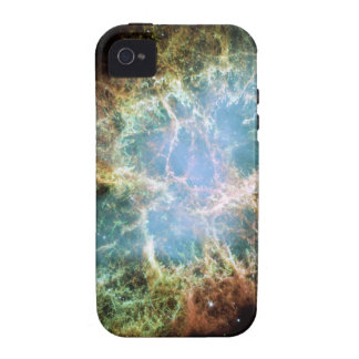 Nebulosa de cangrejo - telescopio de Hubble iPhone 4 Fundas