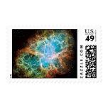 Nebulosa de cangrejo - telescopio de Hubble Franqueo