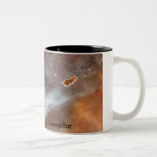 Nebulosa de Carina - Caterpillar Taza De Dos Tonos
