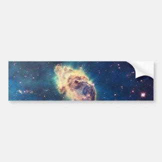Nebulosa de Carina de la cámara del campo ancho de Etiqueta De Parachoque