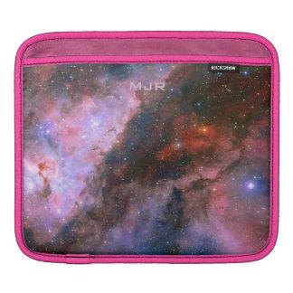 Nebulosa de Carina del monograma - universo Fundas Para iPads