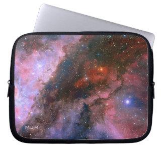 Nebulosa de Carina del monograma - universo Mangas Portátiles