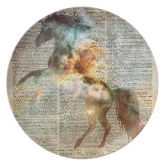 Nebulosa de Carina del unicornio Plato De Cena