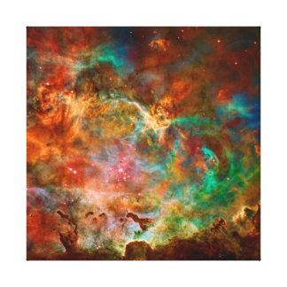 Nebulosa de Carina en la constelación de Argo Lona Envuelta Para Galerías