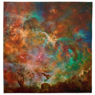 Nebulosa de Carina en la constelación de Argo Navi Servilleta De Papel