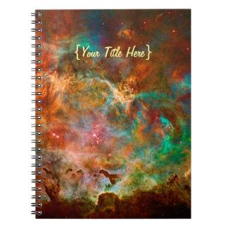 Nebulosa de Carina en la constelación de Argo Spiral Notebooks
