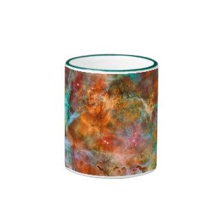 Nebulosa de Carina en la constelación de Argo Taza De Dos Colores