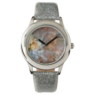 Nebulosa de Carina: mire este espacio Reloj