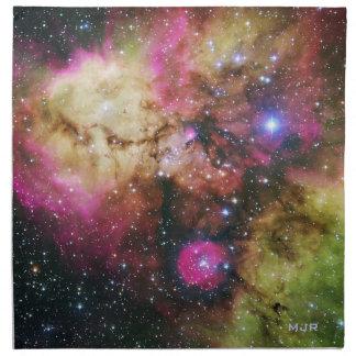 Nebulosa de Carina - nuestro universo impresionant Servilletas De Papel