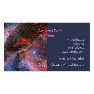 Nebulosa de Carina - nuestro universo Tarjetas De Visita