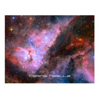 Nebulosa de Carina - nuestro universo Tarjetas Postales