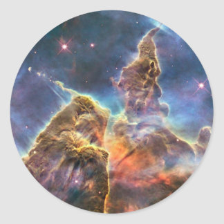 Nebulosa de Carina Pegatina Redonda