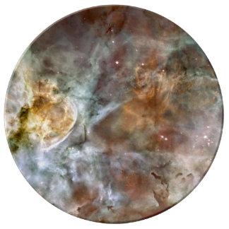 Nebulosa de Carina Plato De Cerámica
