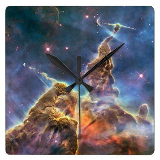 Nebulosa de Carina por el telescopio espacial de Reloj