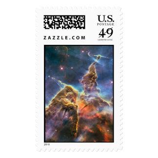 Nebulosa de Carina por el telescopio espacial de Envio