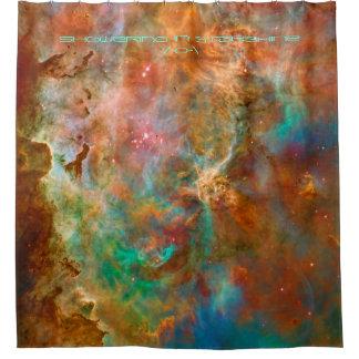 Nebulosa de Carina, regando en luz de las Cortina De Baño
