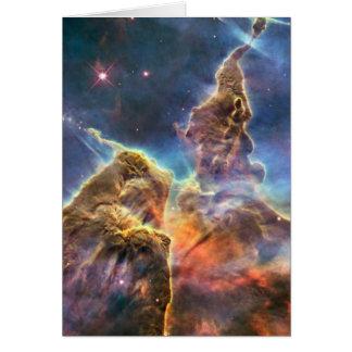 Nebulosa de Carina Tarjeta