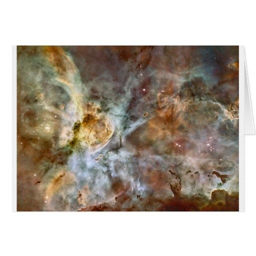 Nebulosa de Carina Tarjeta De Felicitación