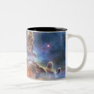 Nebulosa de Carina Taza De Dos Tonos