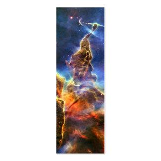 Nebulosa de Carina telescopio de Hubble Plantillas De Tarjeta De Negocio